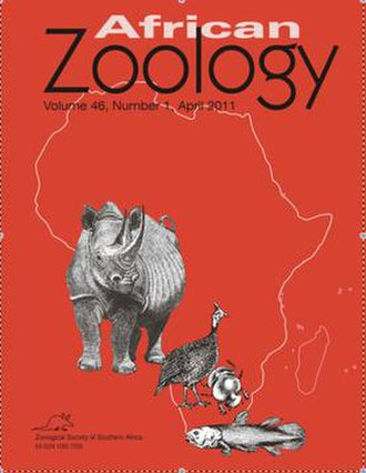 African Zoology - Image: African Zoologycover