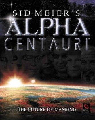Sid Meier's Alpha Centauri - Image: Alpha Centauri cover