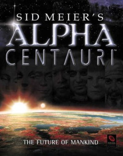 Picture of a game: Sid Meier's Alpha Centauri