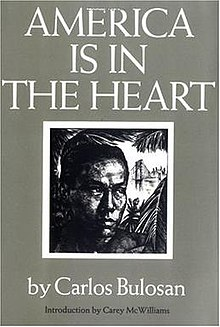 America is in the Heart by Carlos Bulosan Bookcover.jpg