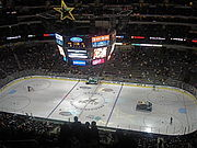 Interior of the AAC during a Dallas Stars game.