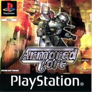 Armored Core (video game) - European cover art