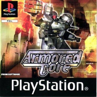 Armored Core (video game) - Image: Armored Core (game box art)