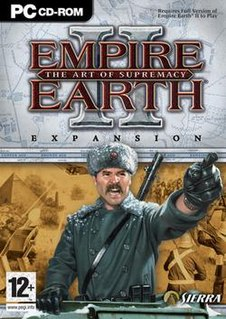 <i>Empire Earth II: The Art of Supremacy</i> 2006 video game
