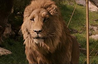 Aslan - Aslan in the 2005 film The Chronicles of Narnia: The Lion, the Witch and the Wardrobe, voiced by Liam Neeson.