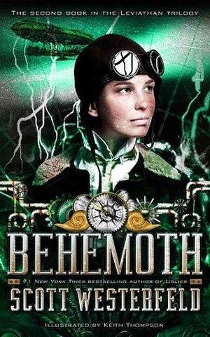Behemoth (novel) - Image: Behemoth Westerfeld Cover