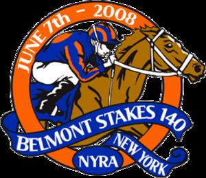2008 Belmont Stakes - 2008 Belmont Stakes logo.
