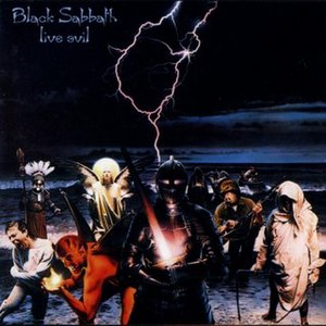Live Evil (Black Sabbath album) - Image: Black Sabbath Live Evil Front