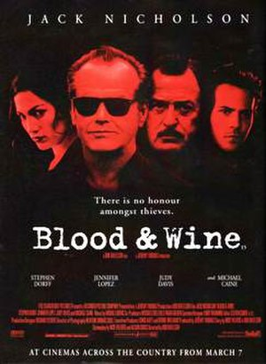 Blood and Wine - Theatrical release poster