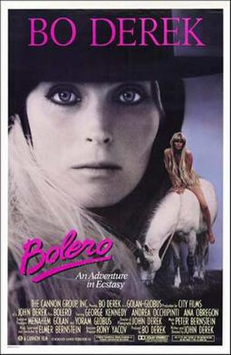 Bolero (1984 film) - Theatrical release poster