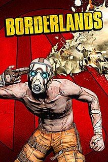 <i>Borderlands</i> (video game) 2009 action role-playing first-person shooter video game