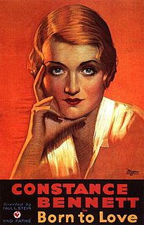 <i>Born to Love</i> (film) 1931 film
