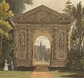Henry Danvers, 1st Earl of Danby - The Danby gateway to the University of Oxford Botanic Garden built in 1633.