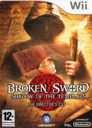 Broken Sword: The Shadow of the Templars – Director's Cut - European Wii cover art