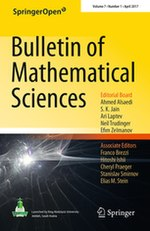 Bulletin of Mathematical Sciences - Wikipedia