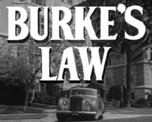 Burke's Law (1963 TV series) - Burke's Law 1963 series intro card