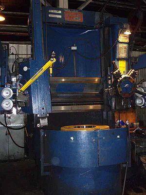 Turret lathe - Image: CNC VTL Bullard