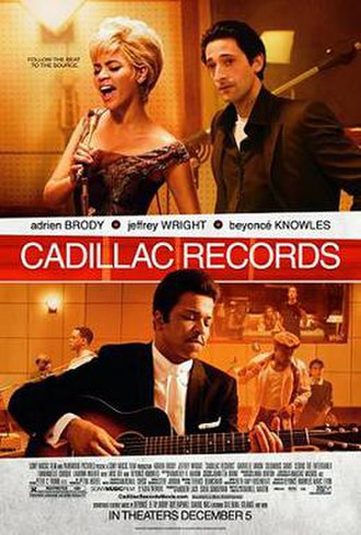 Cadillac Records - Theatrical release poster