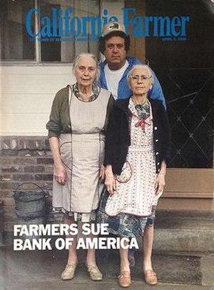 California Farmer - Image: California Farmer magazine cover