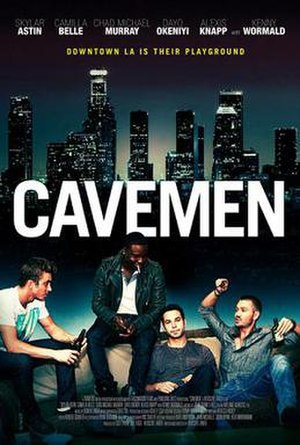 Cavemen (film) - Theatrical release poster
