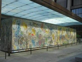 Four Seasons (Chagall) - Image: Chagall Four Seasons 060514