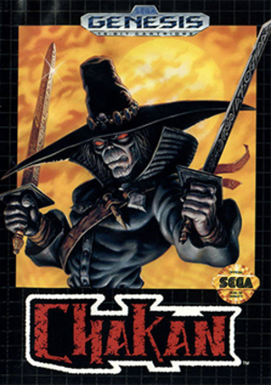 Chakan: The Forever Man - Sega Mega Drive cover art