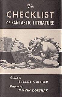 <i>The Checklist of Fantastic Literature</i>