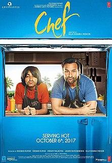 <i>Chef</i> (2017 film) 2017 film by Raja Krishna Menon