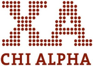 Chi Alpha Campus Ministries - The logo for Chi Alpha, introduced in 2006. Different schools often use different variations.