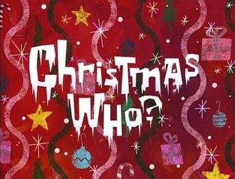 Christmas Who? - Image: Christmaswho SBSP