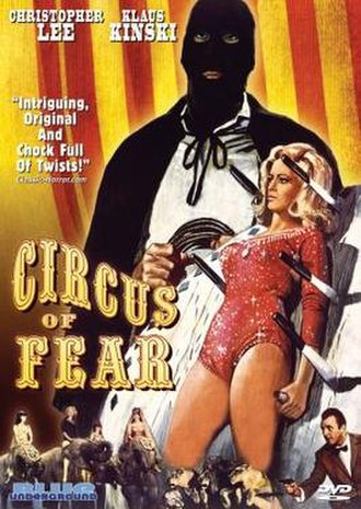 Circus of Fear - DVD cover