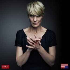 Claire Underwood - Robin Wright as Claire Underwood