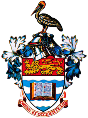 University of the West Indies cricket team - Image: Coat of arms of the University of the West Indies