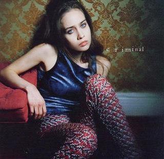 Criminal (Fiona Apple song) 1997 single by Fiona Apple