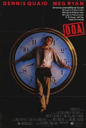 D.O.A. (1988 film) - Theatrical release poster