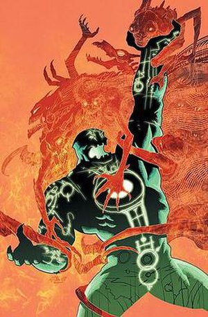 Kilowog - Kilowog as the Dark Lantern. Art by Ariel Olivetti.