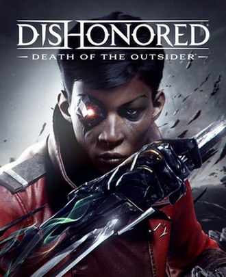 Dishonored: Death of the Outsider - Image: Death of the Outsider cover