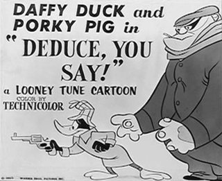 <i>Deduce, You Say!</i> 1956 film by Chuck Jones