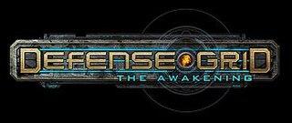 <i>Defense Grid: The Awakening</i> Tower defense video game first released in 2008