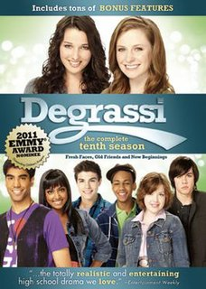<i>Degrassi</i> (season 10) season of television series