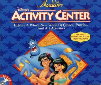 Disney's Activity Center - The 1994 video game Disney's Aladdin Activity Center