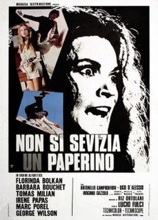 <i>Dont Torture a Duckling</i> 1972 film directed by Lucio Fulci