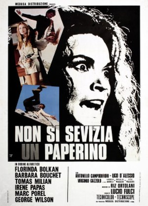 Don't Torture a Duckling - Italian theatrical release poster