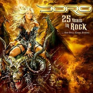 25 Years in Rock... and Still Going Strong - Image: Doro 25 years