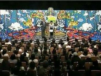 """Downtown no Gaki no Tsukai ya Arahende!! - Gaki no Tsukais """"free talk"""" segment."""