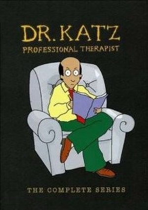 Dr. Katz, Professional Therapist - The DVD cover for the complete series