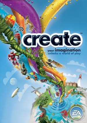 Create (video game) - Create PC box art.