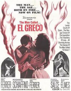 El Greco (1966 film) - Film poster