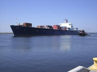 United States Merchant Marine - American flagged SS El Faro ship crewed by U.S. merchant mariners.