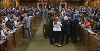 Elbowgate Canadian political scandal